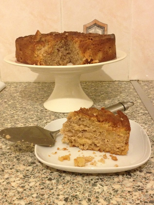Herman the German Friendship cake.